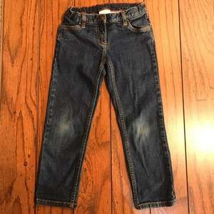 Hanna Andersson Adjustable Waist Jeans (120) Size 6/7